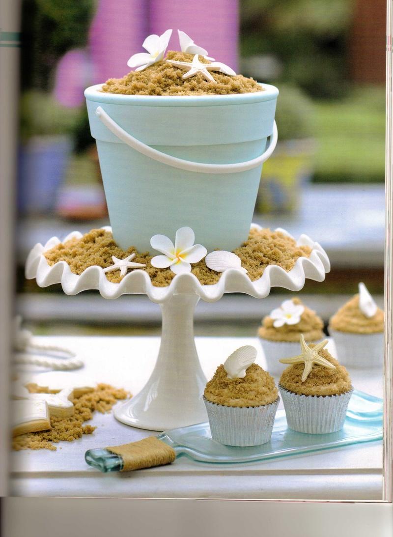 Beach Theme Wedding Photo Albums : Beach ocean theme great cake ideas