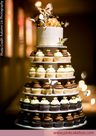 Wedding Album Ideas on Cupcake Wedding Cakes   Great Cake Ideas